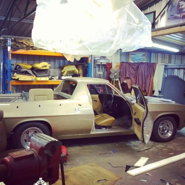 Holden Ute Interior Trim – Northside Motor Trimming